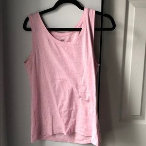 *6/$30* Uniqlo Pink Heather Tank - XXL
